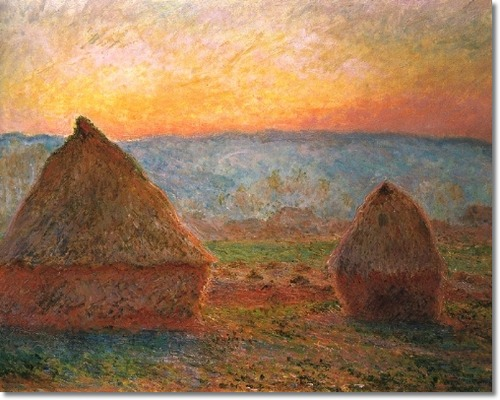claude-monet-grainstacks-sunset-1889