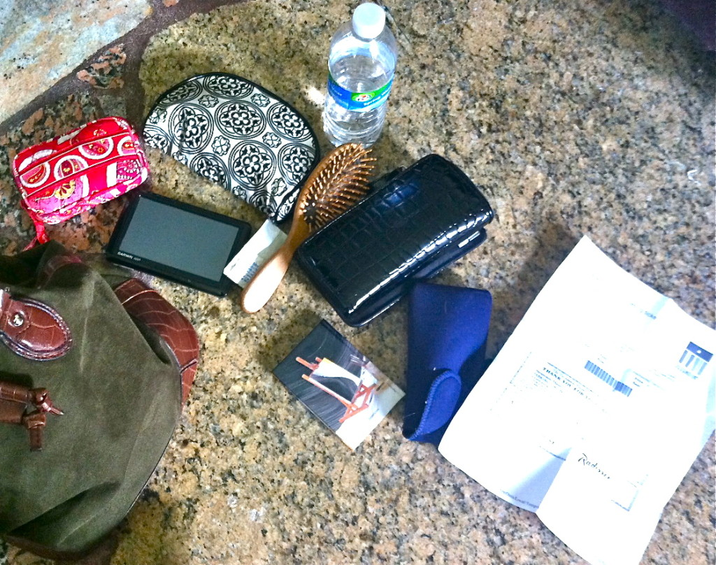 Contents of my purse.